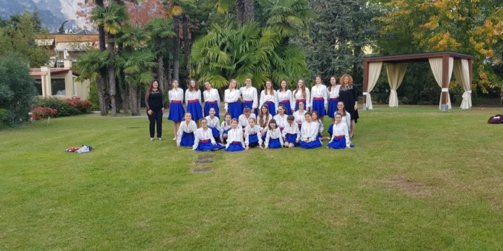 Participation of Children's Choir Dobri Hristov in the 11th Music Festival Lago Di Garda
