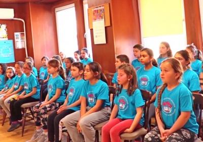 """Последен снимачен ден в бинарен урок с детски хор """"Добри Христов"""""""